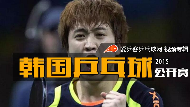 2015年韩国乒乓球公开赛