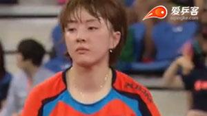 单晓娜VS徐孝元 2015韩国公开赛 女单1/4决赛视频