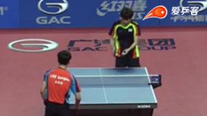 郑荣植VS李尚洙 2015韩国公开赛 男单1/4决赛视频