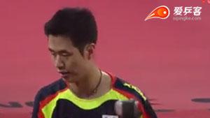 朱世赫VS丹羽孝希 2015韩国公开赛 男单半决赛视频