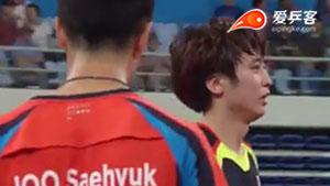郑荣植VS朱世赫 2015韩国公开赛 男单决赛视频