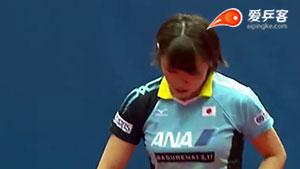 石垣优香VS诺斯科娃 2016保加利亚公开赛 女单1/4决赛视频