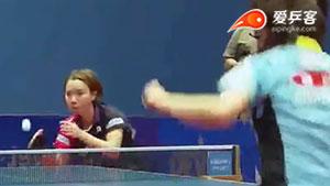 石垣优香VS森园美咲 2016保加利亚公开赛 女单决赛视频