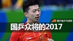 国乒众将的2017:马龙丁宁世乒赛卫冕,樊振东赢突破