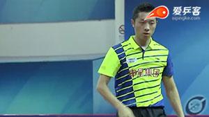 许昕VS赖佳新 2016中国乒超联赛 男团第一轮第一场视频