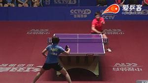 车晓曦VS陈幸同 2016中国乒超联赛 女团第一轮第二场视频