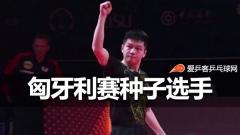 匈牙利赛种子选手公布!樊振东陈梦领衔国乒出征