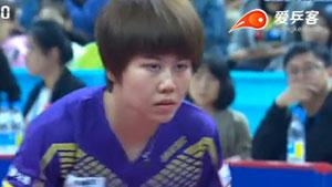 陈梦VS陈幸同 2016中国乒超联赛 女团第二轮第一场视频