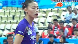 孙颖莎VS武杨 2016中国乒超联赛 女团第二轮第二场视频