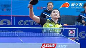 武杨VS陈梦 2016中国乒超联赛 女团第二轮第四场视频