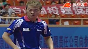 朱霖峰VS刘吉康 2016中国乒超联赛 男团第三轮第一场视频