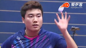 梁靖崑VS庄智渊 2016中国乒超联赛 男团第三轮第一场视频