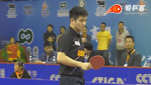 樊振东VS郑荣植 2016中国乒超联赛 男团第三轮第一场视频