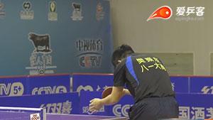 樊振东VS许昕 2016中国乒超联赛 男团第三轮第四场视频