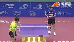 闫安VS梁靖崑 2016中国乒超联赛 男团第四轮第二场视频