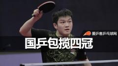 匈牙利赛 | 国乒成功包揽四冠,樊振东单双打皆称王